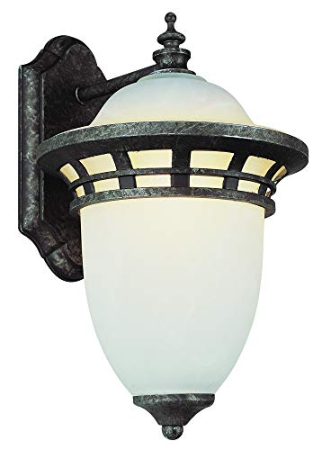 Trans Globe 5111 AP Bristol Antique Pewter Outdoor Wall Sconce