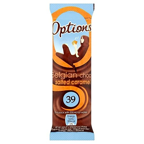 Options Salted Caramel Hot Chocolate Sachet 11g - Pack of 6