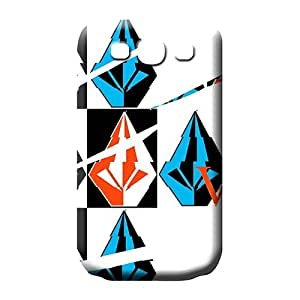 samsung galaxy s3 First-class PC pattern phone case skin volcom famous top?brand logo