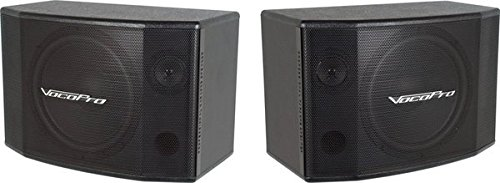 VocoPro SV-600 (Pair) 12 2-Way Vocal Speaker by VocoPro