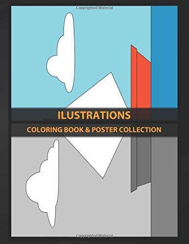 Coloring Book Poster Collection Ilustrations Moby Dick Of The