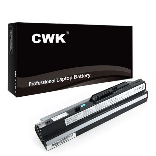 CWK 7800mAh 9 Cell New High Capacity Battery for MSI Wind L2500 U135DX U270 BTY-S11 BTY-S13 MSI Wind U90 U100 U110 U115 U120 U230 U250 BTY-S11 BTY-S12 U90X ttery Advent 4211 MSI Wind12 U200 U210 U230 LG X110 BTY-S12 BTY-S11 MSI Wind U100-001CA Pink Wind U100-002CA Heart Pearl BTY-S11 BTY-S12 MSI Wind U100 MS-N011 U100W-085NL 14L-MS6837D1 3715A-MS6837D1