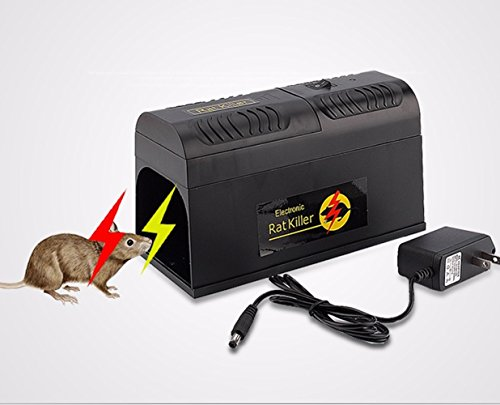 Nynoi rat zapper mouse trap ultra classic Electric High Voltage Mouse Rat Trap - Snare Sunglasses