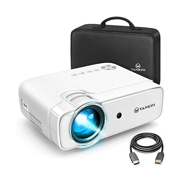 VANKYO Leisure 430 Mini Movie Projector, 3600 Lux Video Projector with 50,000 Hours...
