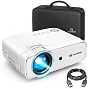 """#LightningDeal VANKYO Leisure 430 Mini Movie Projector, 3600 Lux Video Projector with 50,000 Hours LED Lamp Life, 236"""" Display, Support 1080P, HiFi Built-in Speaker, Compatible with TV Stick, HDMI, SD, AV, VGA, USB"""