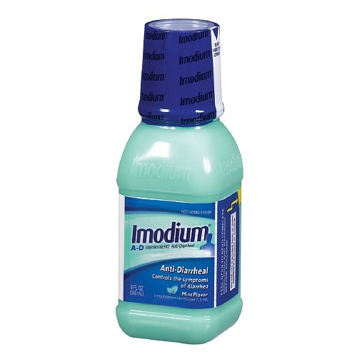 Anti Diarrheal Mint - Imodium A-D Anti-Diarrheal, Mint Flavor 8 fl oz
