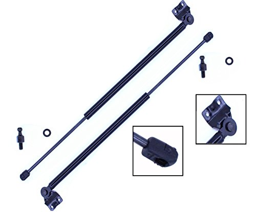 2 Pieces (SET) Tuff Support Liftgate Lift Supports 1988 To 1991 Honda Civic 4 Doors (1991 Wagon)