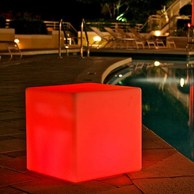 All-Weather Cordless Outdoor Lights - Cube by Infinita