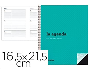 Additio P212 - Agenda profesor polipropileno semana vista ...