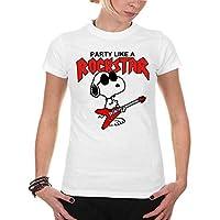 Playera Snoopy Rockstar