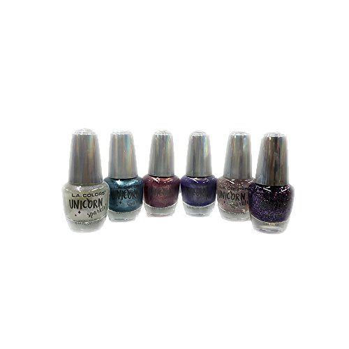 LA COLORS Brand New Nail Polish Unicorn Sparkle Set