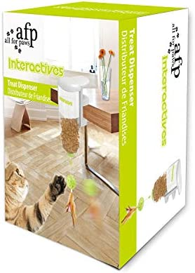 All for Paws Cat Interactive Treat Puzzle Toy, Cat Food Dispenser Toys 7