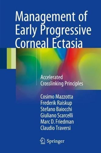 Management of Early Progressive Corneal Ectasia: Accelerated Crosslinking Principles