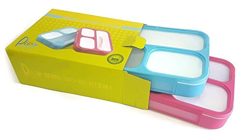 Leakproof Compartments Containers Dishwasher PlusPoint product image