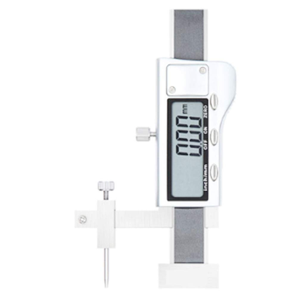 Digital display surface difference 0-10mm, high precision full metal electronic surface gauge