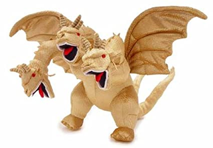 Toy Vault King Ghidorah Plush Toy with SoundToy Vault King Ghidorah Plush Toy with Sound