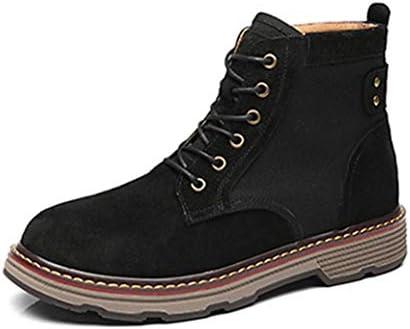 ブーツ メンズ ハイカット 通勤 ラウンドトゥ 厚底 作業靴 カジュアル ワークシューズ ショートブーツ 滑り止め 作業ブーツ アウトドア 安全靴 マーティンブーツ ビジネスシューズ 滑り止め 編み上げブーツ