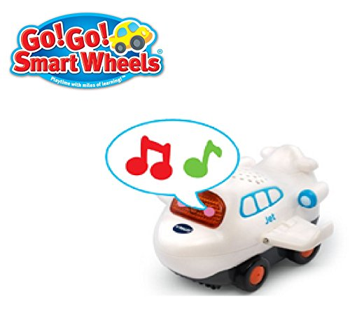 NEW! Go! Go! Smart Wheels - JET - By VTech