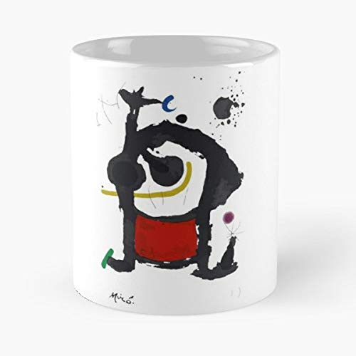 - Miro Joan Paintings Artist - Ceramic Novelty Cup Best Gift For Father Day