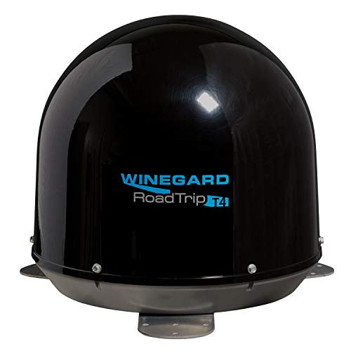 Winegard Black RT2035T T4 in-Motion RV Satellite Antenna