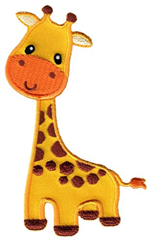 PatchMommy Iron On Patch, Giraffe - Appliques for Kids ()