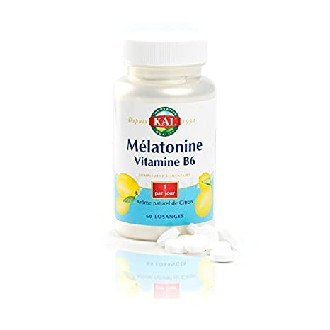 Solaray - Melatonina 1,9 mg Vitamina B6 - Stress y sueño ...