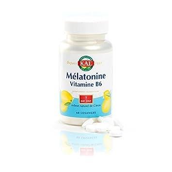 Solaray - Melatonina 1,9 mg Vitamina B6 - Stress y sueño - Caja de 60 rombos: Amazon.es: Salud y cuidado personal