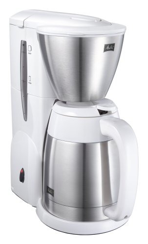 MELITTA coffee maker Pure White aroma thermo stainless 2 MKM-531-W by Melitta