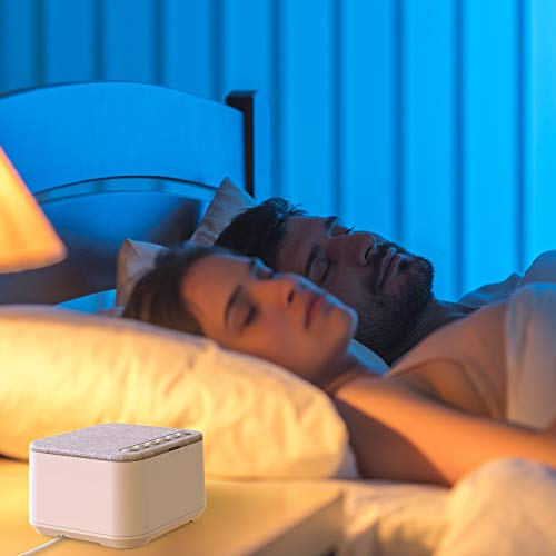 White Noise Machine, X-Sense Sleep Sound Machine with 40 Non-Looping Soothing Sounds and High Quality Speaker, 30 Levels of Volume, 7 Timer Settings and Memory Function for Home, Office and Travel by xSense (Image #6)