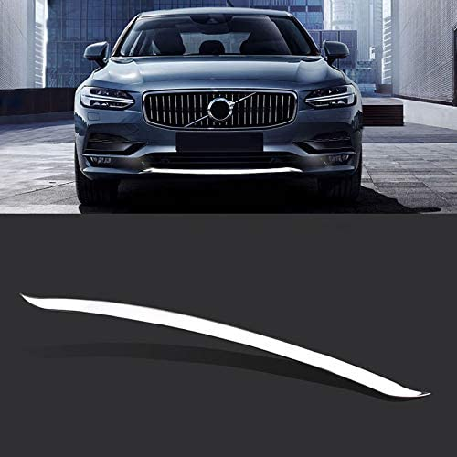 Car-Stying Accessories for Volvo S90 2017 2018 2019 Front Bumper Skid Protector Guard Protector Plate Cover Trim 1PCS