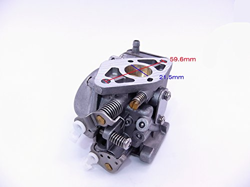 SouthMarine 3B2-03200-1 3B2-03200 3G0-03200 Carburetor Assy for Tohatsu Nissan 2-Stroke 9.8HP M9.8 NS9.8 Outboard Motors