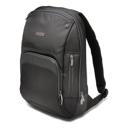 Kensington Triple Trek Slim Backpack for MacBooks, Chromebooks & Ultrabooks up to 13-Inch-14-Inch (K62591AM) (Triple Trolley)