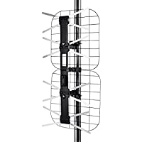 Monoprice Foldable Long Range HD8 Outdoor HD Antenna, 80 Mile Range