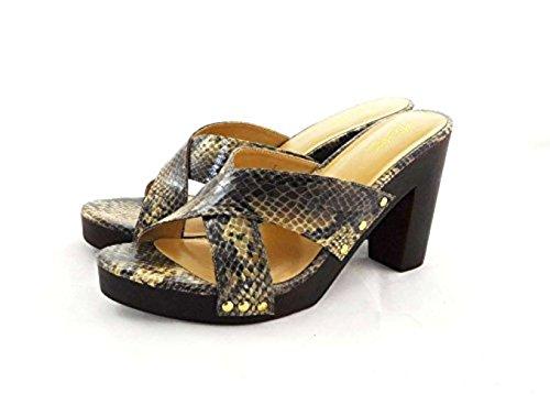 Brown Sodi Sandales Eu Snake Marron 41 Thalia Couleur Femmes Taille Compensées 6AqZcxaR