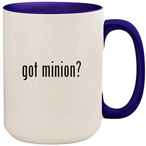 got minion? - 15oz Ceramic Colored Inside and Handle Coffee Mug Cup, Deep Purple for $<!--$24.95-->