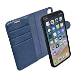 RadiArmor Anti-Radiation Detachable Wallet Case - Compatible with iPhone X/Xs – Lab Certified EMF Protection by RadiArmor (Teal, iPhone X)