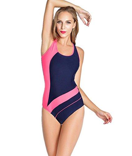 ZOYOL-YT El balneario de la playa de las mujeres atractivas del triángulo del siamés atractivo se divierte el traje de baño competitivo