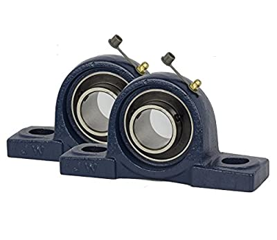 2 Pieces- UCP204-12, 3/4 inch Pillow Block Bearing Solid Base,Self-Alignment, Brand NEW!