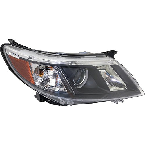 Evan-Fischer EVA135012916204 Headlight for Saab 9-3 08-10 Assembly Halogen Right Side
