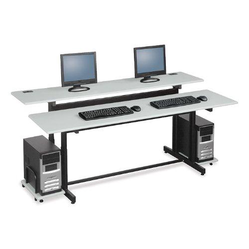 Balt Steel Workstation - Balt Split Level Workstation - 72X36x25.6