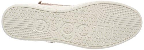 Bugatti Ladies 421291315969 Sneaker Alta Multicolore (beige / Rosa)