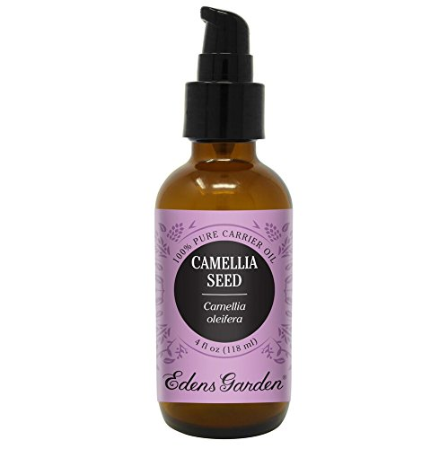 Camellia Seed (100% Pure Carrier Oil) Premium Oils by Edens Garden- 4 oz (Great For Aromatherapy, Diluting Essential Oils, Relaxing Massage and Moisturizing)