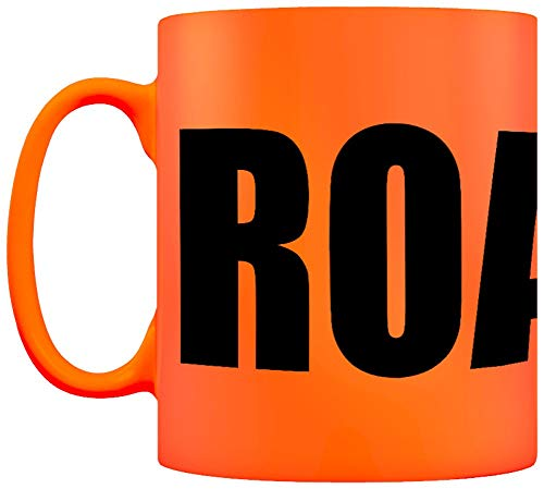 - Grindstore Roasted Neon Mug for Tea or Coffee Orange