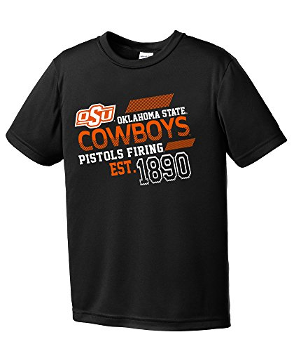 NCAA Oklahoma State Cowboys Youth Boys Offsides Short sleeve Polyester Competitor T-Shirt, Youth ()