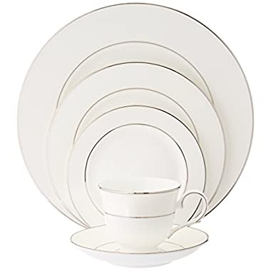 Lenox Opal Innocence Stripe 5-Piece Place Setting, Service for 1