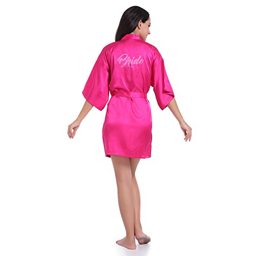 Sposa Vestaglie da BOYANN e Kimono Notte Camicie Cristallo Pigiami e Rosa EUA7qd
