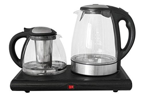 GOLDA INC. Glass Tea Maker, Electric Kettle, Tea Tray Set ... (Turkish Tea Kettle Electric compare prices)
