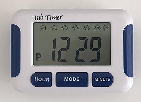 TabTimer, Recordatorio de Píldoras Parkinsons, con hasta 8 alarmas al día, La Ayuda de Medicamentos Esenciales para el Parkinsons.