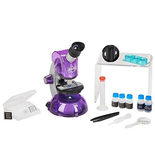 Edu Science Microscope (Edu Science M640x Microscope Purple)