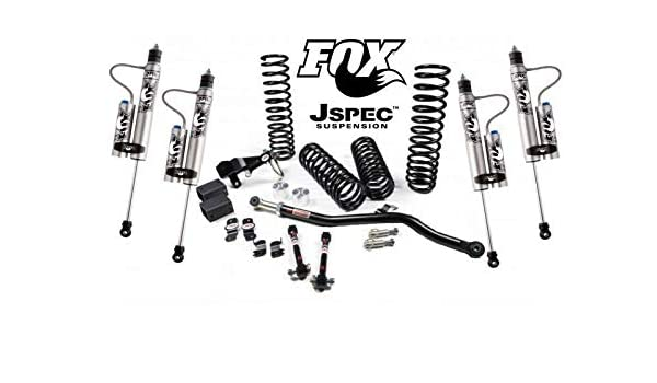 Rough Country 3.25 Dual Lift Kit Compatible w// 2007-2018 Jeep Wrangler JK 4DR w// N3 Shocks Suspension System PERF694